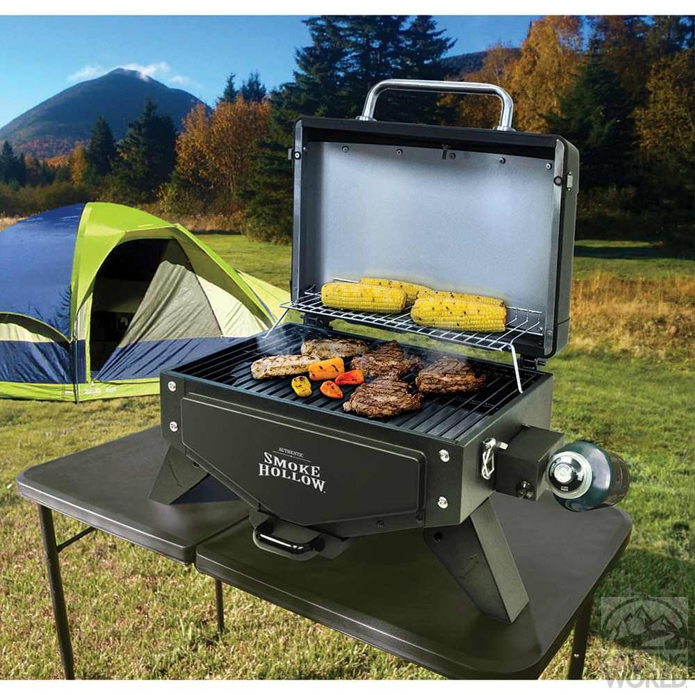 smoke hollow vector series gas tabletop grill ebay. Black Bedroom Furniture Sets. Home Design Ideas