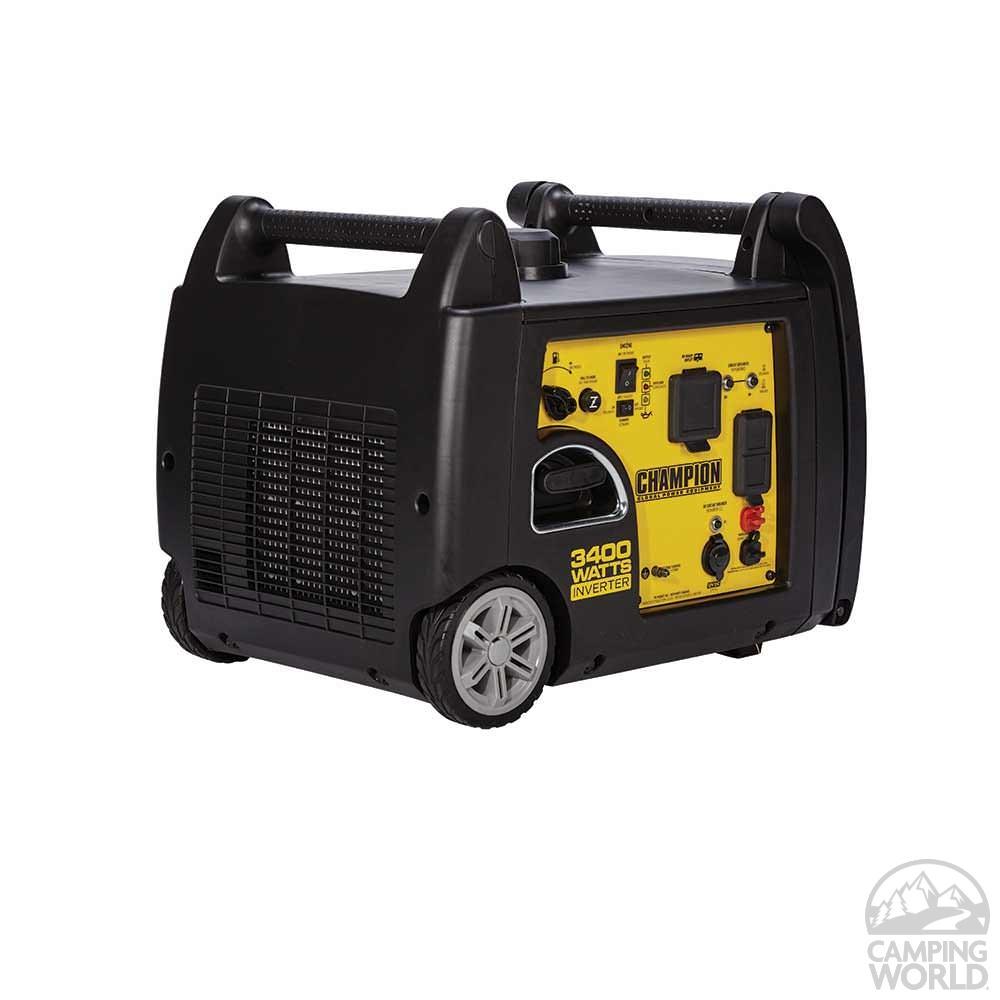 Champion 3400w Inverter Generator Champion Generators