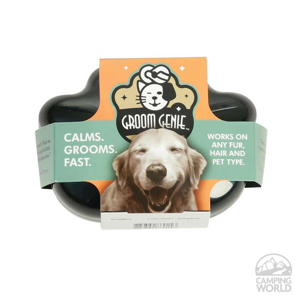 Groom Genie Dog Brush - Multipet International Inc 86015 - Pet Grooming - Camping World