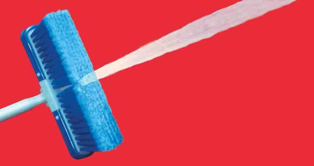 Wash Brush 10 Quot Adjust A Brush Prod413 Brushes And