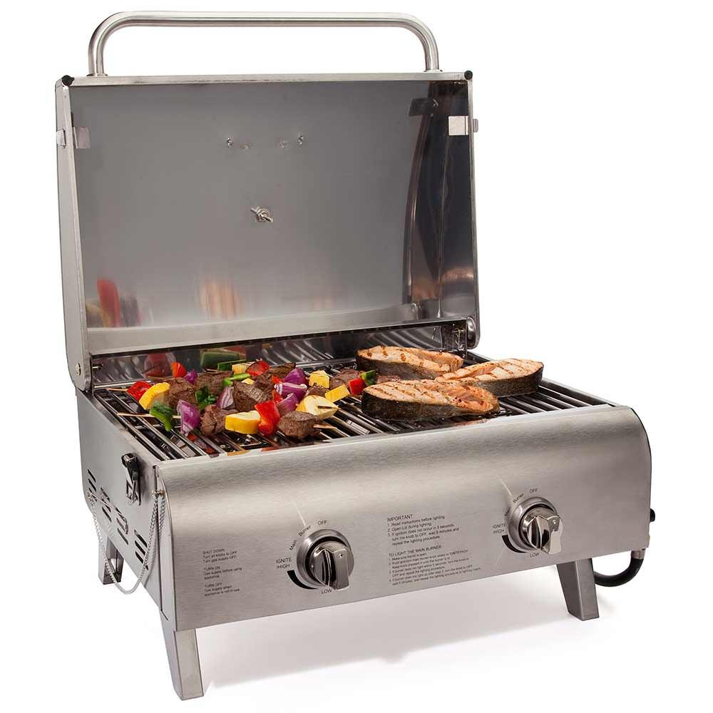 cuisinart chef 39 s style tabletop grill the fulham group cgg 306 gas grills camping world. Black Bedroom Furniture Sets. Home Design Ideas