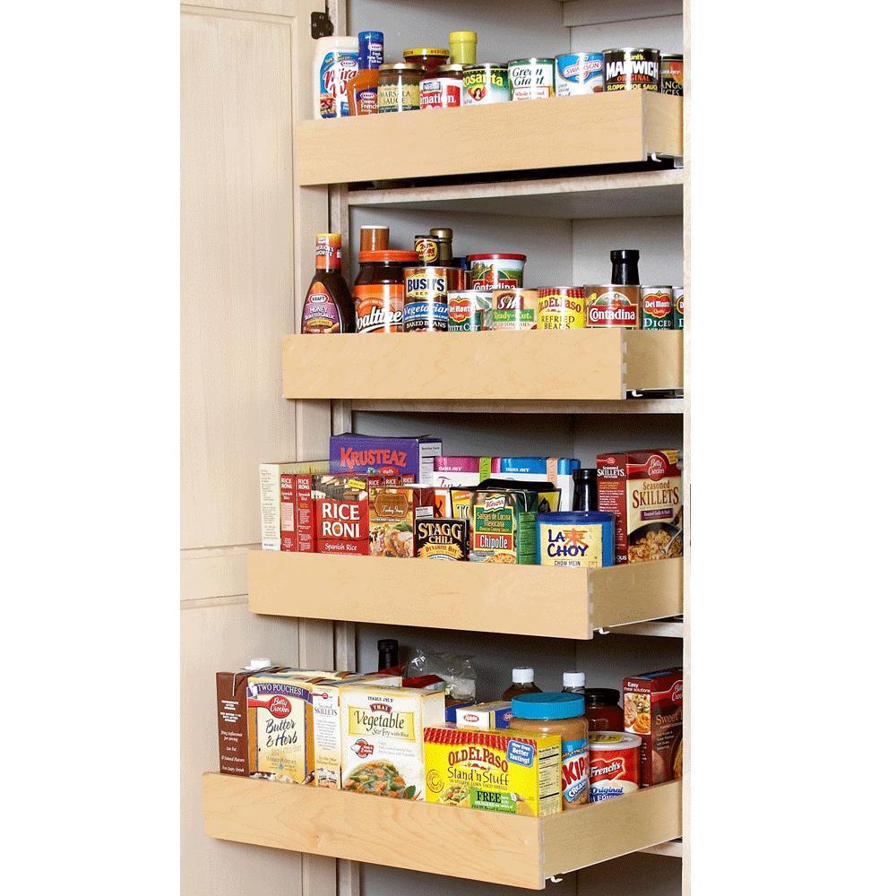 Tall Rollout Shelf 21 5 Deep For 9 Inch Cabinet Opening Shelf Improvement
