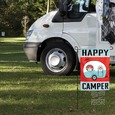 Garden Flag, Happy Camper