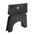 E-Z Foldz Folding Step Stool, 9 - Black