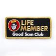 Good Sam Club Life Member Badge