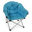 Blue Club Chair