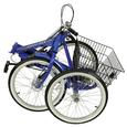 Adventurer 3-Speed Folding Trike, Blue