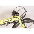 Origami Crane 8 Bike, Yellow
