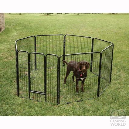 Heavy Duty Pet Fence 36 Quot H Direcsource Ltd 100955 Pet