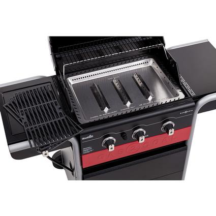 char broil gas2coal charcoal and 3 burner gas grill 40 000 btu