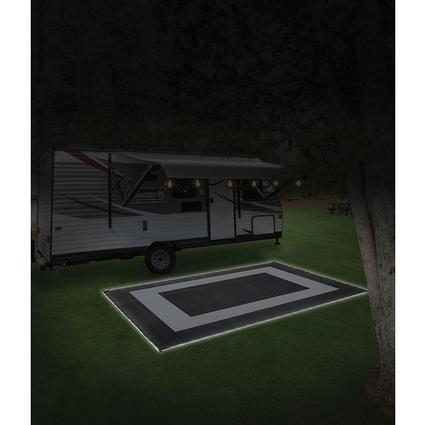 Led Illuminated Patio Mat 9 X 12 Black Direcsource Ltd 101152