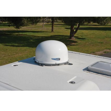Winegard RoadTrip Mission Satellite TV Antenna- Stationary, White