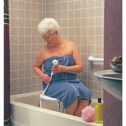 Adjustable Bath And Shower Seat Without Back Carex