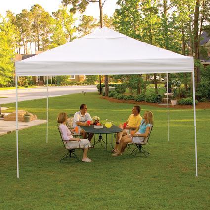 12x12 Pro Series Pop Up Canopy White Shelterlogic