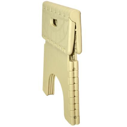 E Z Foldz Folding Step Stool 9 Quot Beige B Amp R Plastics