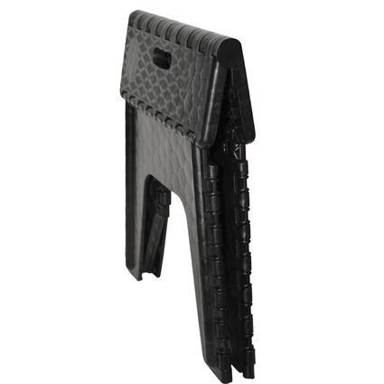 E Z Foldz Folding Step Stool 12 Quot Black B Amp R Plastics