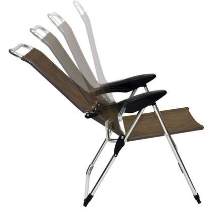 lightweight adjustable folding arm chair direcsource ltd. Black Bedroom Furniture Sets. Home Design Ideas