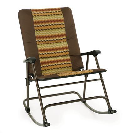 zig zag rocker direcsource ltd d09 1119 1 folding chairs camping world. Black Bedroom Furniture Sets. Home Design Ideas