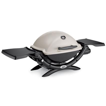 weber q 1200 portable propane grill weber 51060001 gas grills camping world. Black Bedroom Furniture Sets. Home Design Ideas