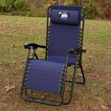 Home Is Where You Park It Zero Gravity Recliner Navy