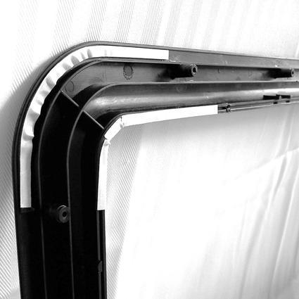 Clear View Entry Door Window Kit Ross Rv Innovations B12521518kit Entry Door Hardware