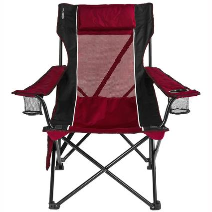 Red Sling Chair Kijaro 80178 Folding Chairs Camping