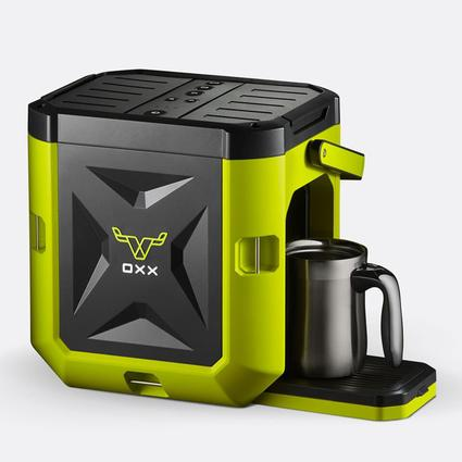 Camping World Coffee Maker : Coffeeboxx Single Serve Camping Coffee Maker in Green - Oxx Llc CB250 - Coffee Makers - Camping ...