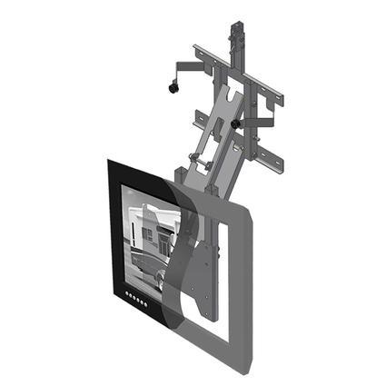tv56 129h drop down wall mount mor ryde international. Black Bedroom Furniture Sets. Home Design Ideas