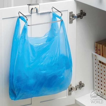 Over Cabinet Trash Bag Holder