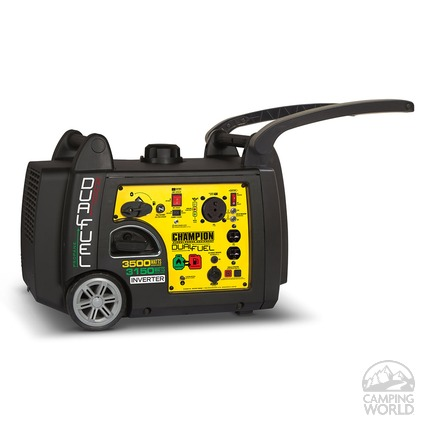 Champion 3500 Watt Dual Fuel Rv Ready Portable Inverter
