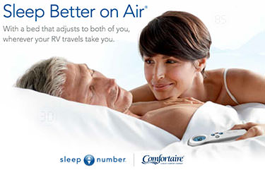 sleep number bed and mattresses for home and rv - camping world