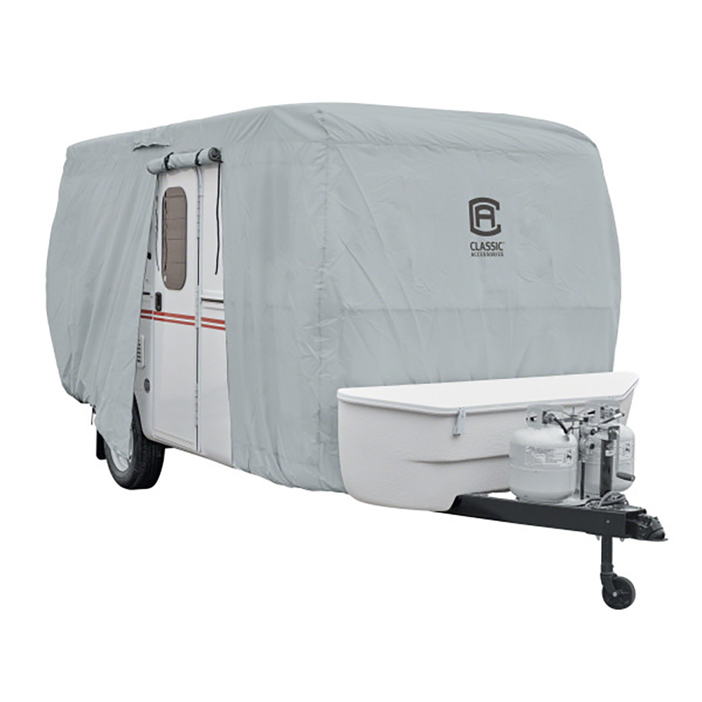 Molded Fiberglass Travel Trailer