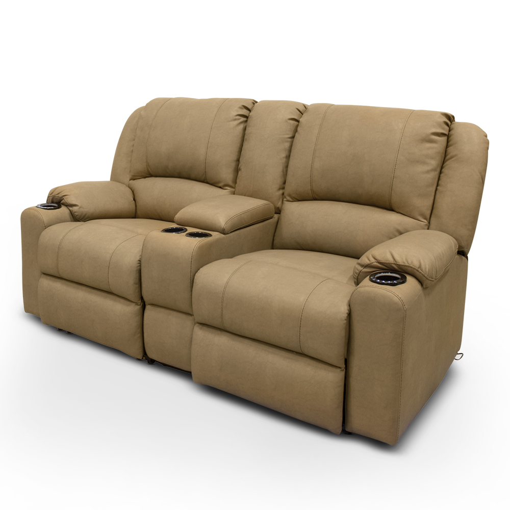 Seismic series modular theater seating lippert components inc furniture camping world Loveseat theater seating