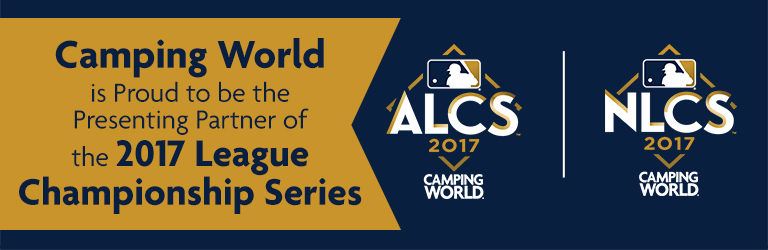 Camping World is Proud to be the Presenting Partner of the 2017 League Championship Series