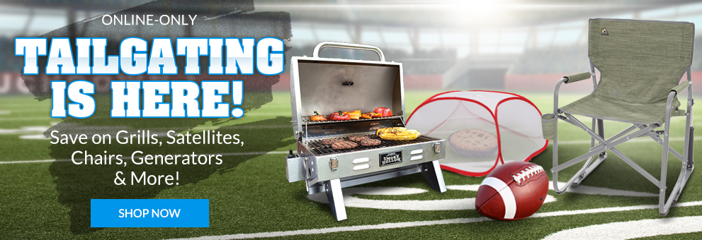 Tailgating is Here!