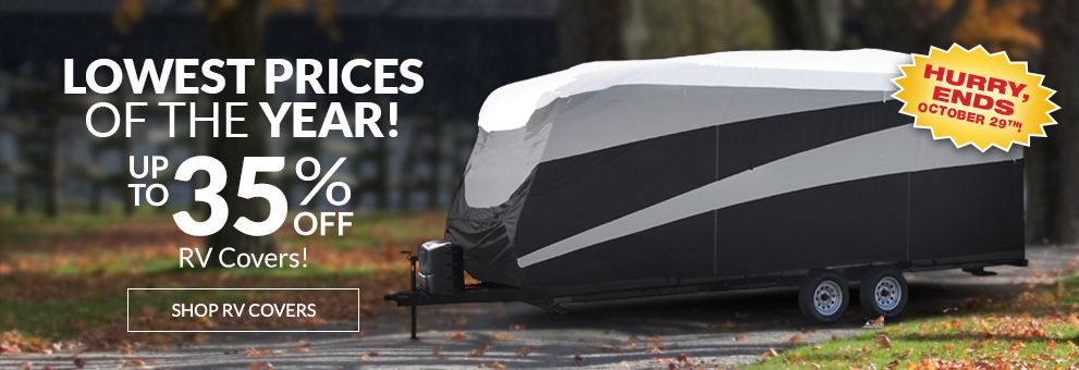 RV Cover Sale!