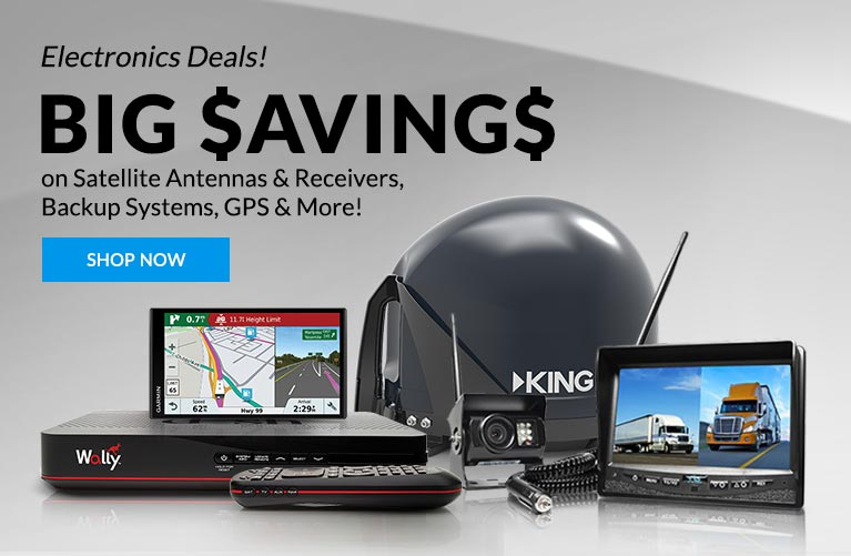 Big $aving$ on Satellite Antennas & Receivers, Backup Systems, GPS & MORE!