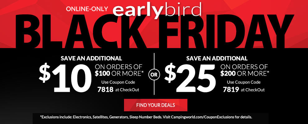 EarlyBird Black Friday