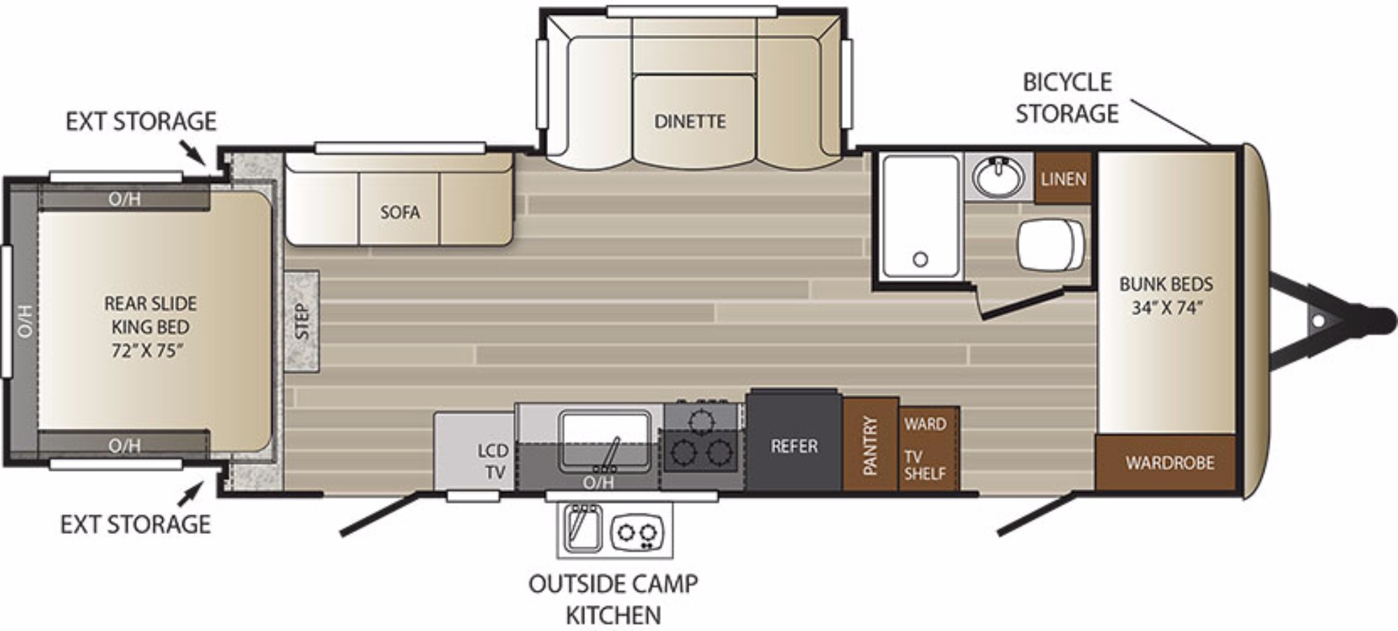 new or used travel trailer campers for sale rvs near oxford bathroom
