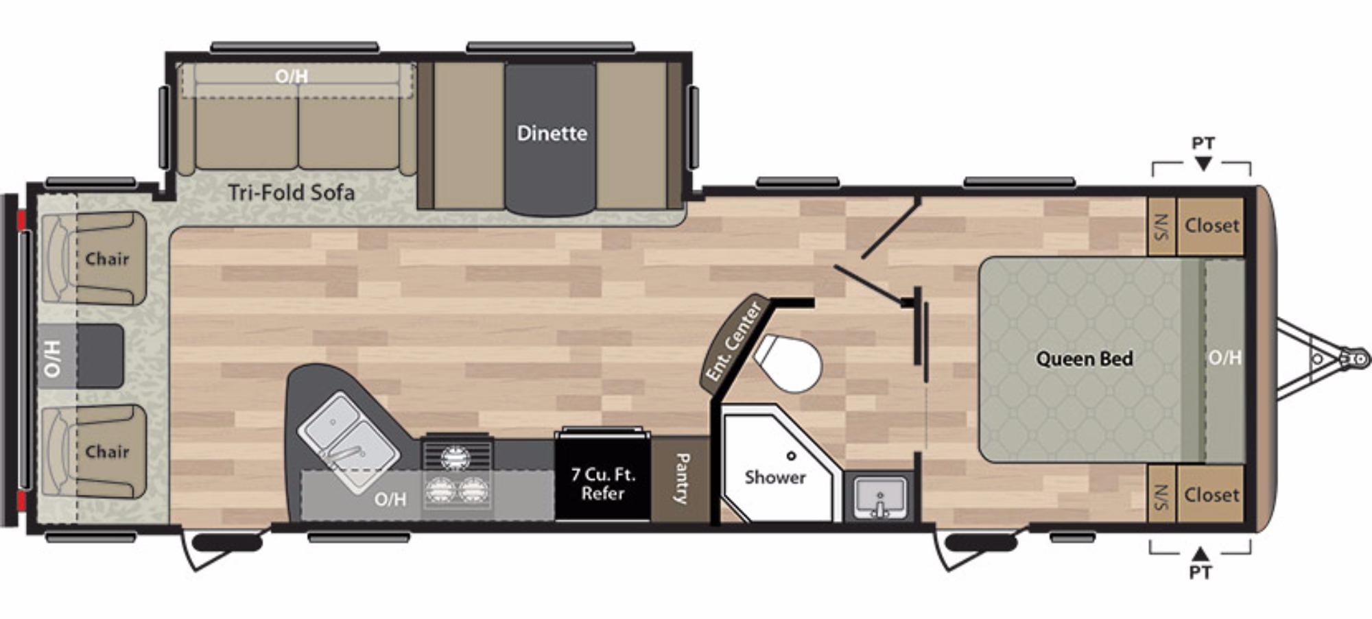 Starcraft Rv Floor Plans 2017 Keystone Springdale 271rlwe Camping World Of Eugene