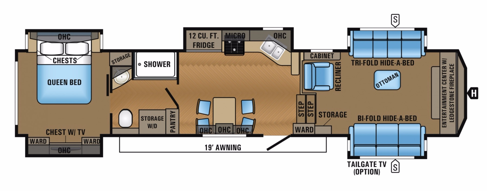 new or used fifth wheel campers for sale rvs near tallahassee