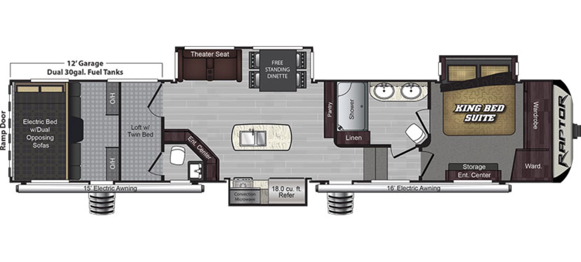 2016 Fuzion Toy Hauler Floor Plans Carpet Vidalondon