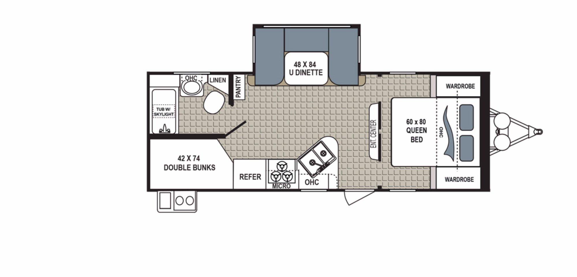 Bedroom : 2018-DUTCHMEN-240BHSL