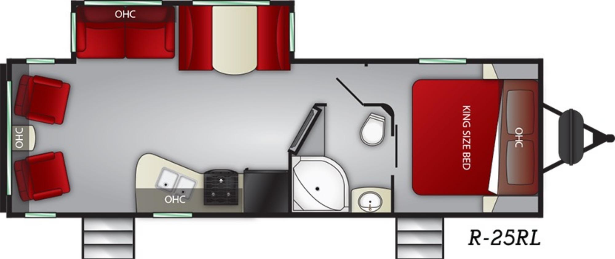 Exterior : 2019-CRUISER RV-25RL