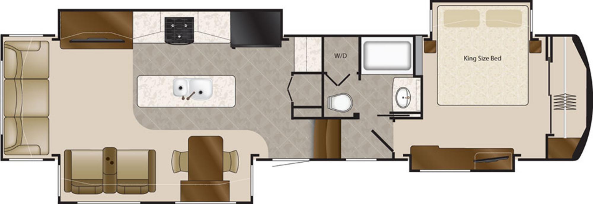 Bedroom : 2019-DRV LUXURY SUITES-38RSSA