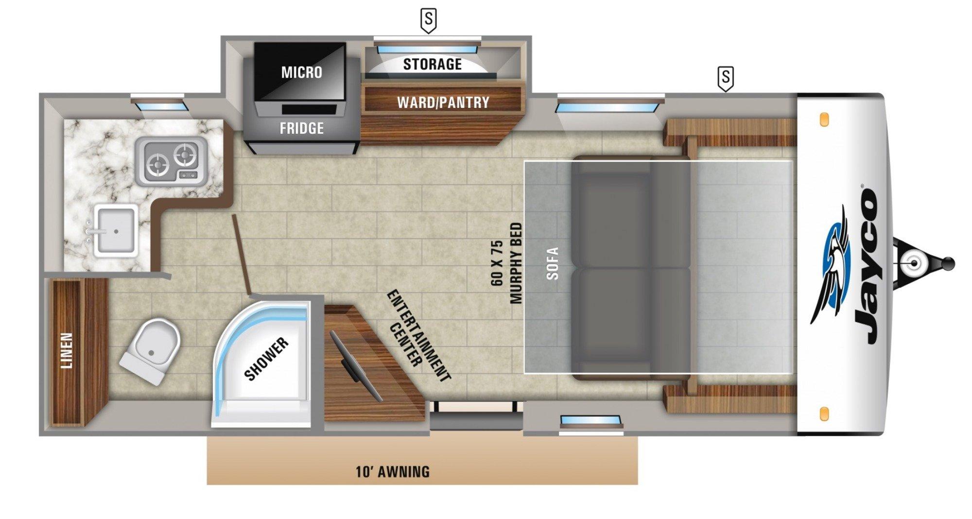 Kitchen : 2019-JAYCO-17MBS