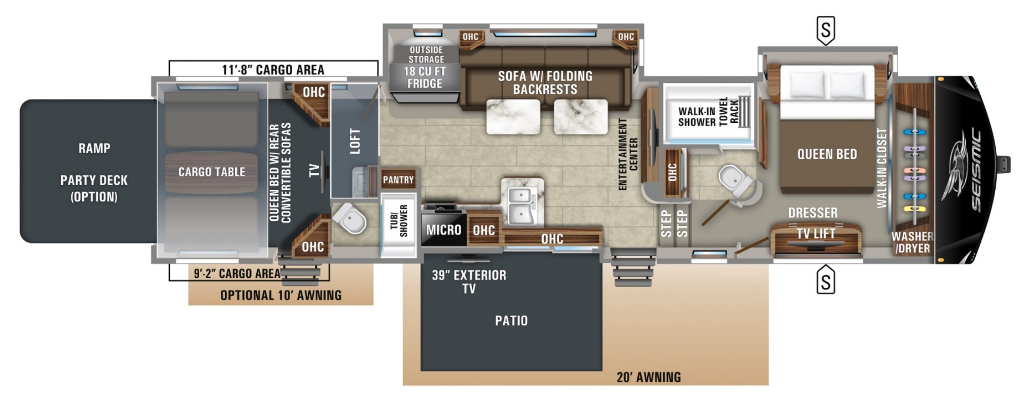 Floor Plan : 2019-JAYCO-4212
