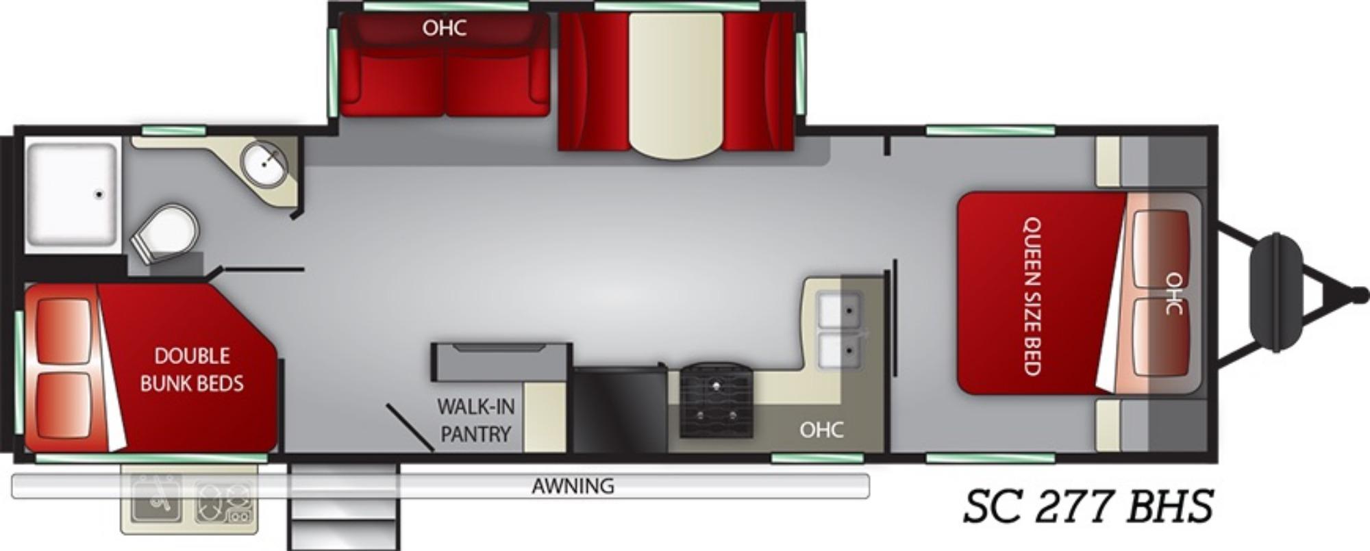Exterior : 2019-CRUISER RV-277BHS