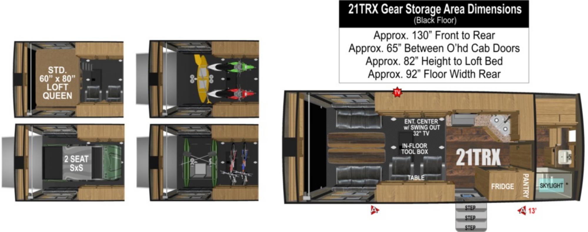 Garage : 2019-OUTDOORS RV-21TRX
