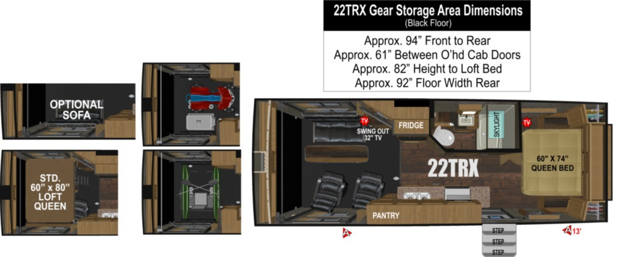 Garage : 2019-OUTDOORS RV-22TRX